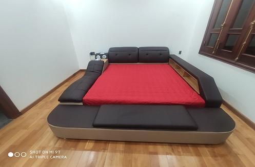 Hoàn thiện giường ngủ đa năng hiện đại MINAMI tại nhà anh Binh