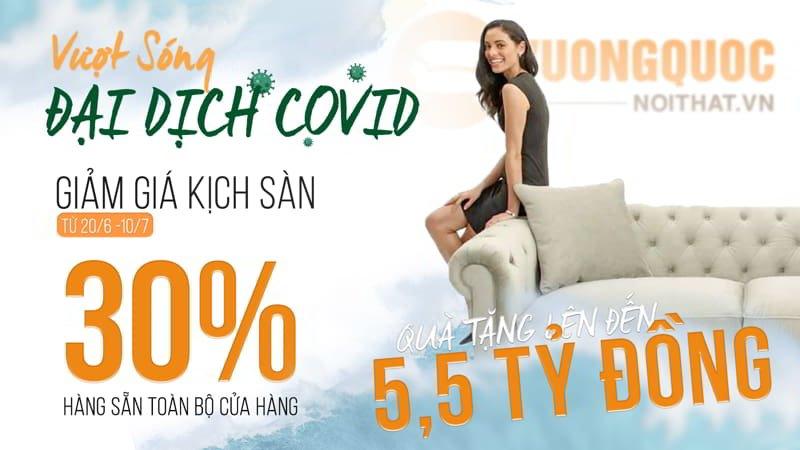 Vượt sóng đại dịch Covid - Giảm giá kịch sàn 30% Cùng quà tặng lên đến 5,5 tỷ đồng